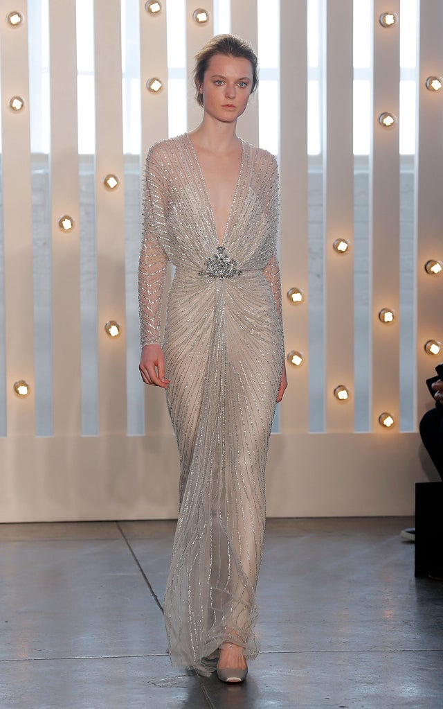 Jenny Packham, for the Gin-Soaked 1930s Silver Screen Heiress in You