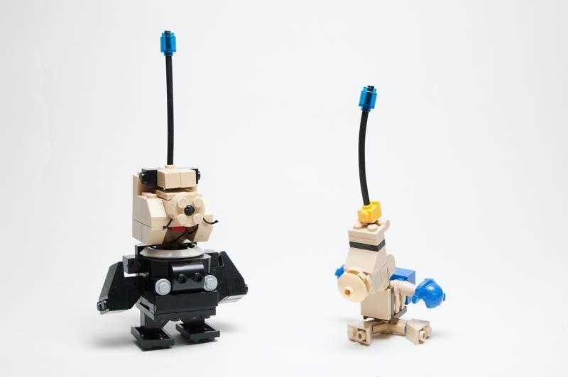 Captain Legomar And His Blocky, Danish Pikmin