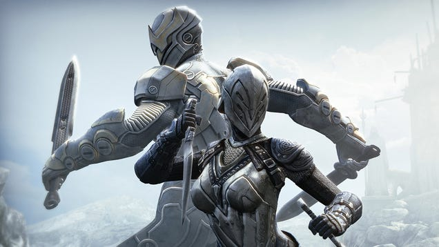 Look at Infinity Blade For