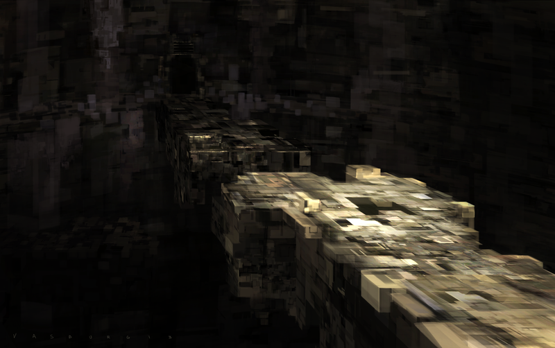 Ancient Ruins, Or A Minecraftian Superhighway?