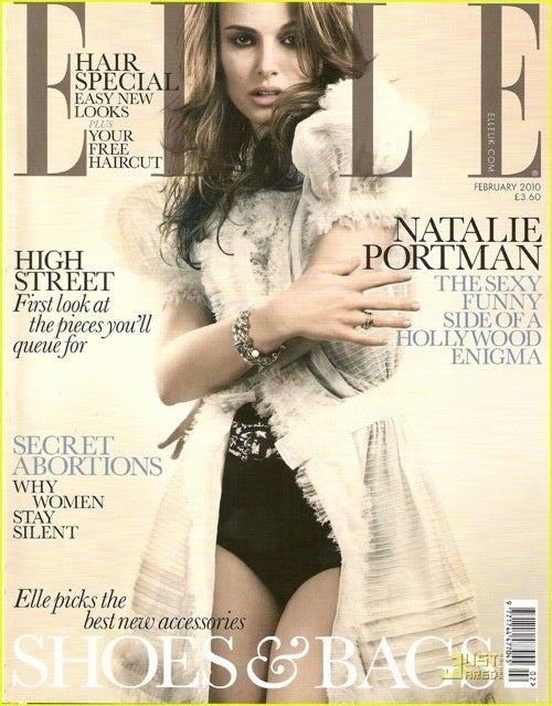 Natalie Portman's Elle UK Cover Ushers In A New Decade Of Sexyface