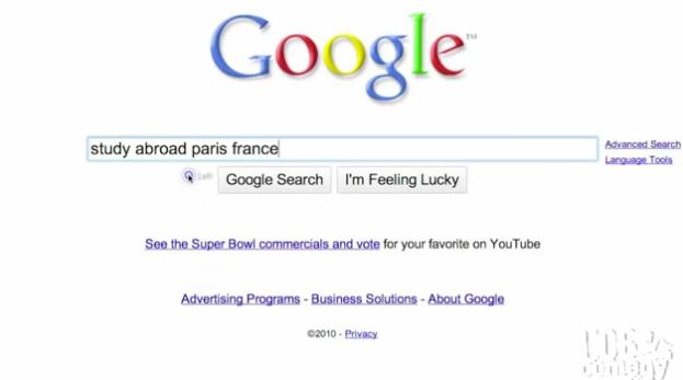 Parisian Oops: A More Realistic Google Ad