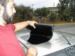 The Ultimate Car Accessory: The Faux Stick-On Sunroof