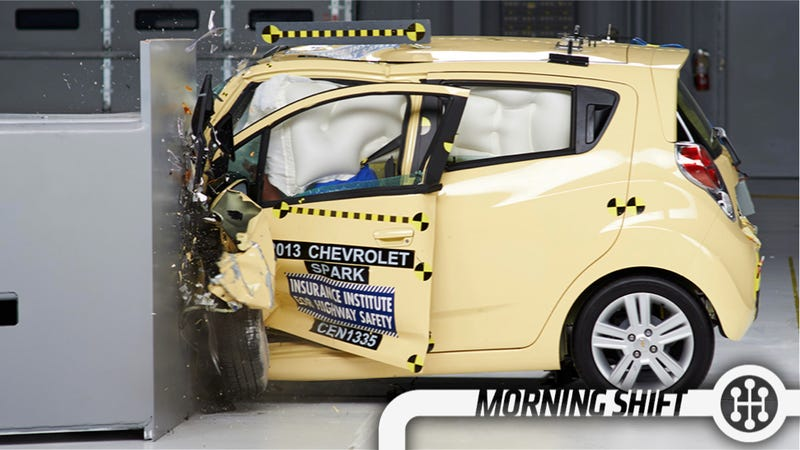 This American Small Car Did Better Than The Japanese In Crash Testing