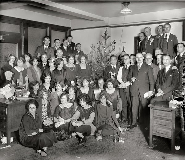 Christmas Party, 1925