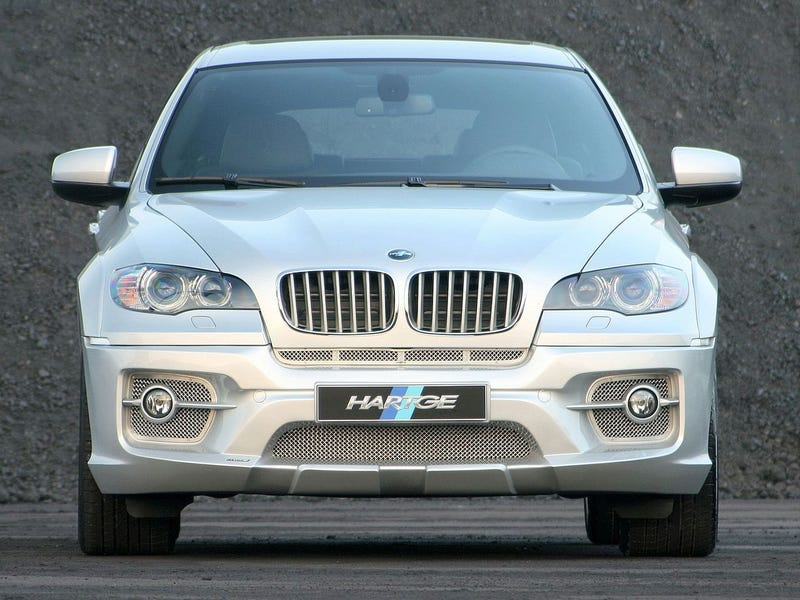 Hartge BMW X6 Does Diesel Performance, Horrific Body Kit