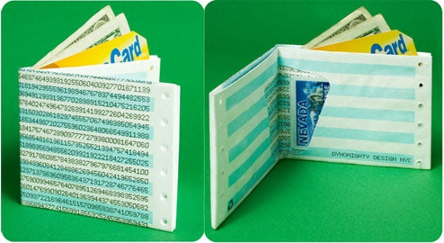 Dot Matrix Wallet Smears Fashion All Over Your Sweaty Pocket