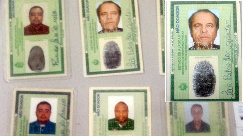 Man Attempts to Open a Bank Account Using Jack Nicholson's Identity