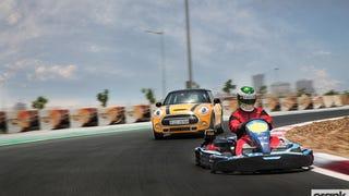 MINI Cooper S vs Sodi go-kart. That 'go-kart feeling'