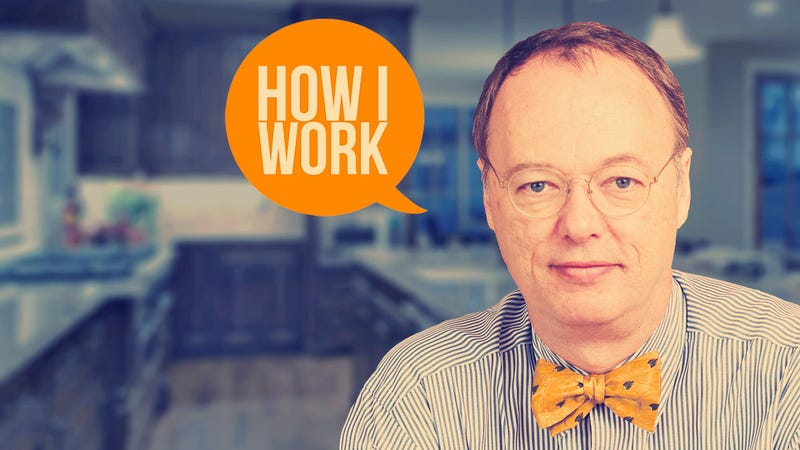 I'm Chris Kimball, Founder of America's Test Kitchen, and This Is How I Work