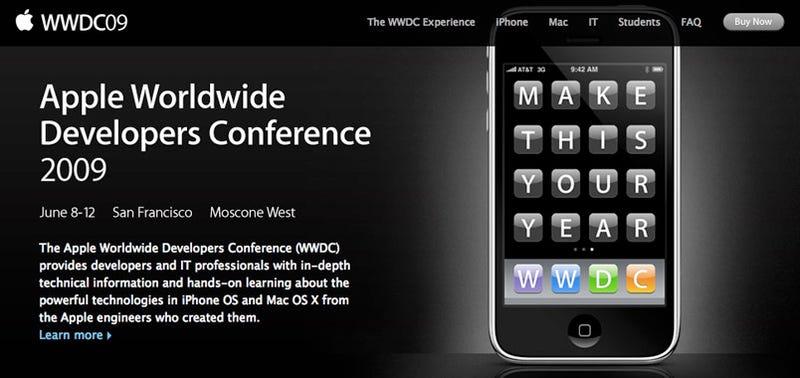 Apple WWDC 2009 Dates Set: June 8-12