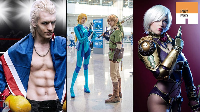 Samus and Link Walk Into a Cosplay Convention...
