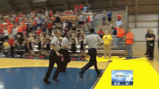 High School Basketball Playoff Game Ends In Stupid, Ridiculous Way