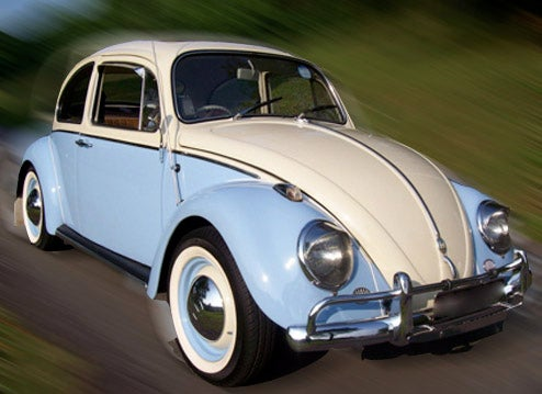 VW Beetle Nailed For 115 MPH Ticket, Year Not Given