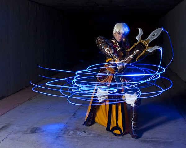 This Diablo Monk Lights Up The Internet