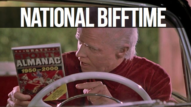 Biff Tannen Promises a Perfect Week This Time. Really, Trust Him.