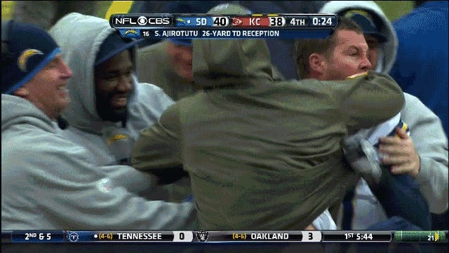Philip Rivers Wins The Game And Makes A Bunch Of Crazy Faces