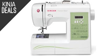 Own This Highly-Rated Sewing Machine for $100, Today Only