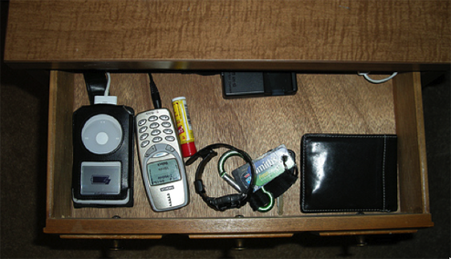 Turn a Drawer into a Hideaway Charging Station