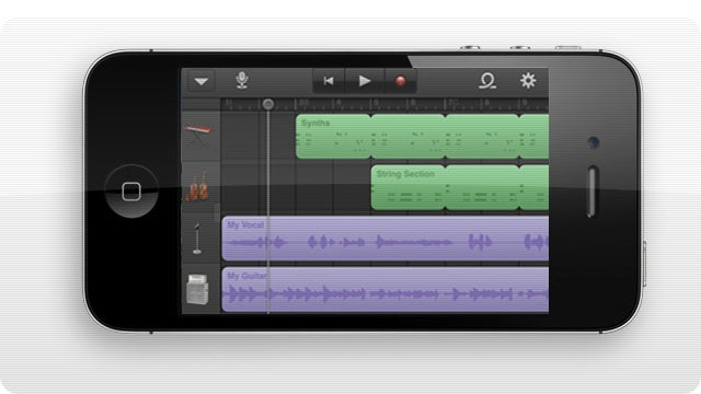 GarageBand Brings the Rock to iPhone and iPod touch