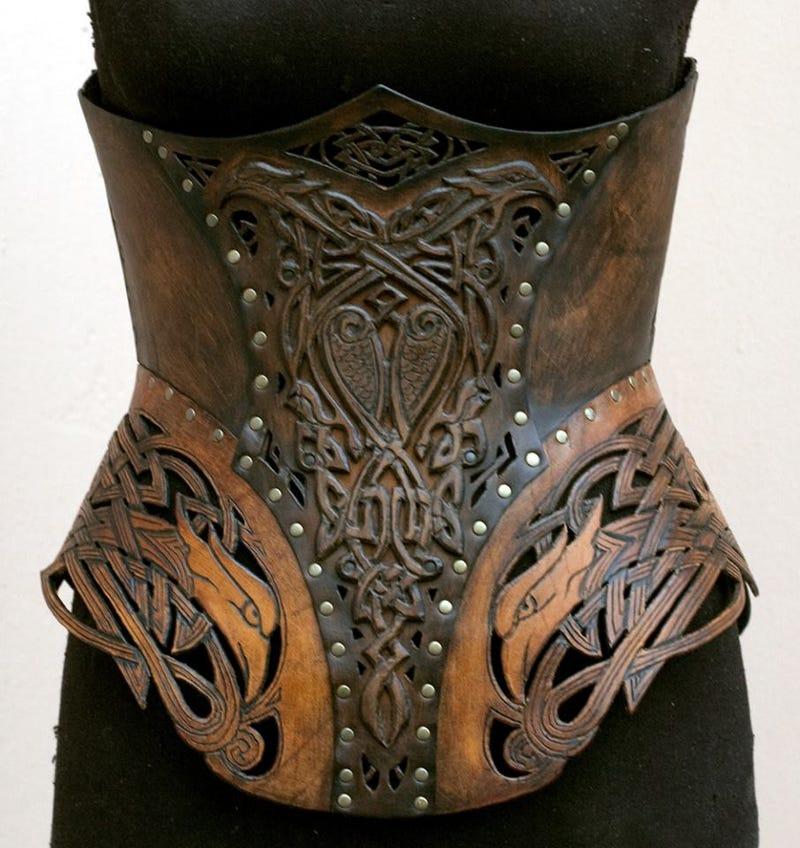 Where armor meets corset