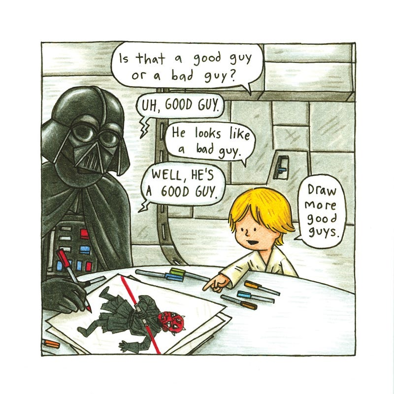 Jeffrey Brown explains why Darth Vader would have made a great dad