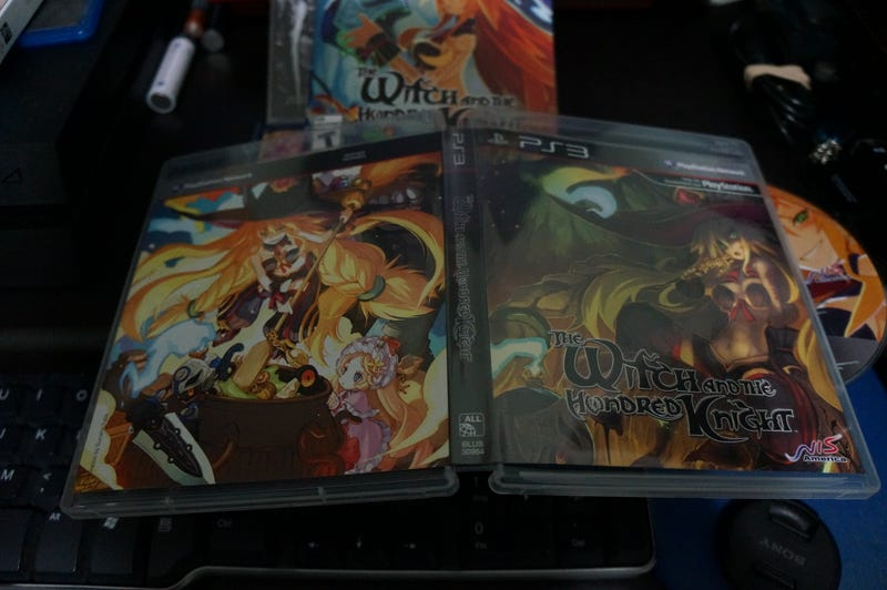 The Witch and The Hundred Knight LE Unbox