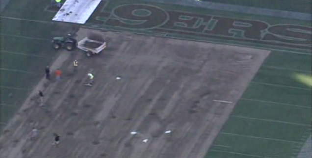The 49ers Are Replacing Their Turf Already