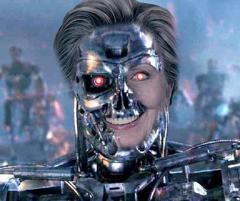 Maureen Dowd Calls Hillary Clinton Sci-Fi Monster