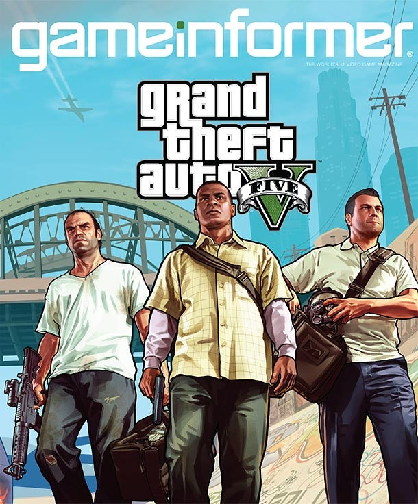 Grand Theft Auto V Has Three Protagonists