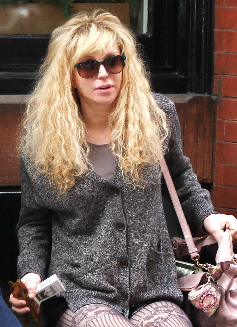 Courtney Love's Panty-Throwing Airport Tantrum, and Other Bad Behaviors