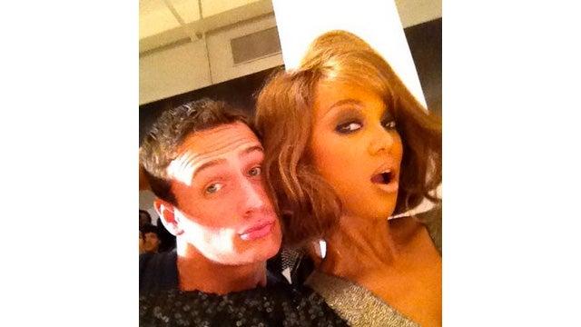Tyra Banks Teaches Ryan Lochte How to Smize