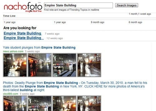 NachoFoto Gives You Relevant and Real Time Image Search Results