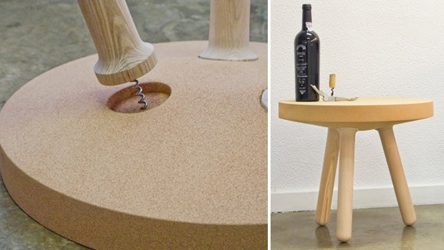 Assembling This Table Is Just Like Uncorking a Bottle Of Wine