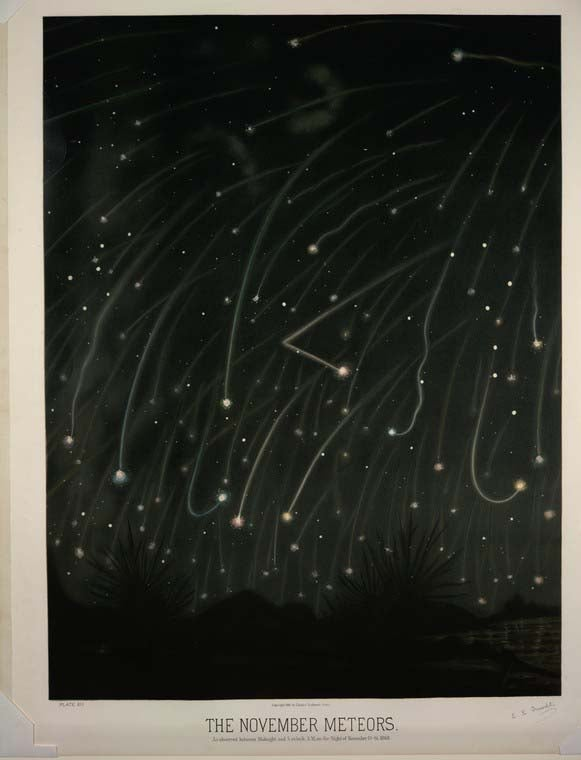 19th Century astronomy illustrations are pre-photographic space porn