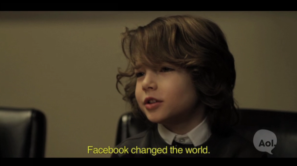 Kids Act Out The Social Network