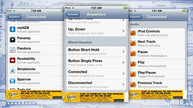 Perform Nearly Any Action When You Plug Headphones Into Your iPhone, Courtesy of Activator