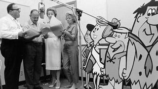 12 Rare <i>Flintstones</i> Production Shots From the Golden Age of Animation