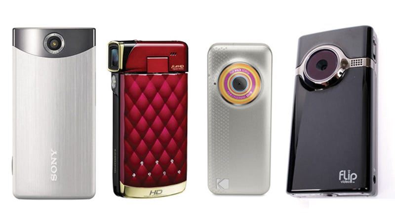 Pocket Video Showdown: Four Budget Camcorders Reviewed