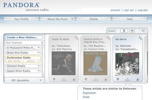 Best Music Discovery Service: Pandora