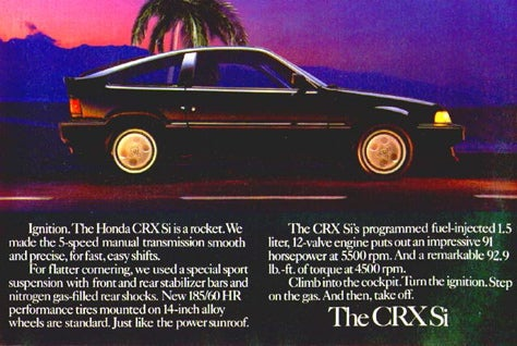 Hoons Rejoice? CRX Possibly to Return