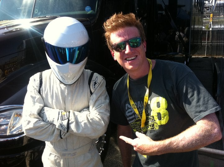 Proof The Stig is not Bill Caswell