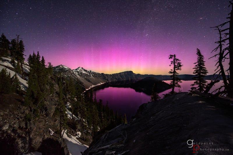 Gorgeous Footage of Last Weekend's Surprise Aurora Borealis