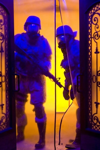 New Quarantine Pics Show Day Glo Slumber Party From Hell