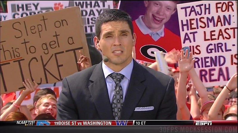 OMG Puppies!: Your College Gameday Sign Roundup