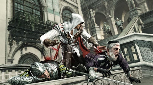 Ezio Is Kicking Altair's Assassin's Creed Sales