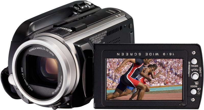 JVC Expands Everio Range, Including World's First 50-Hour AVCHD Camcorder