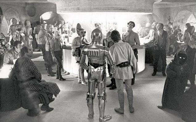 Rough Cut Star Wars' Cantina Scene Is Like Being On The Set Of New Hope