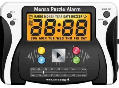 Official Mensa Alarm Clock Reminds You That You Are a Moron Every Morning