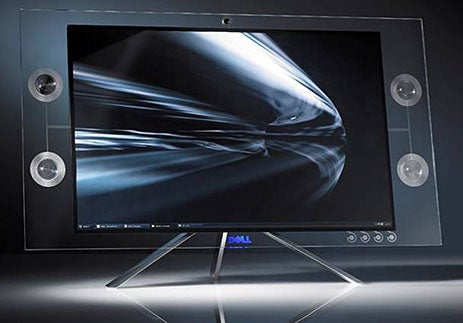 Ultra-Pretty Dell Crystal LCD Monitor Now Available